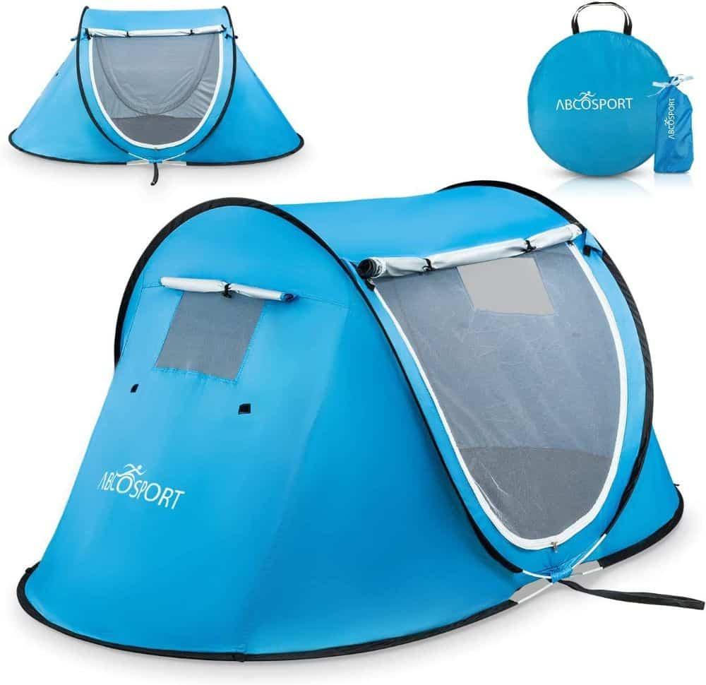 Abco Pop Up Portable Cabana Beach Tent