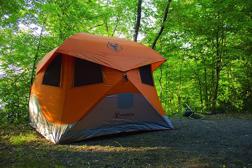 Gazelle T4 Hub Tent in the Woods