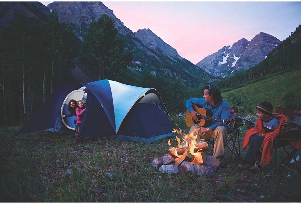 Coleman Elite Montana 8-Person Tent Campsite