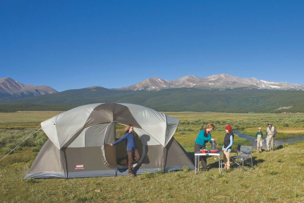 Coleman WeatherMaster 10-Person Tent Family