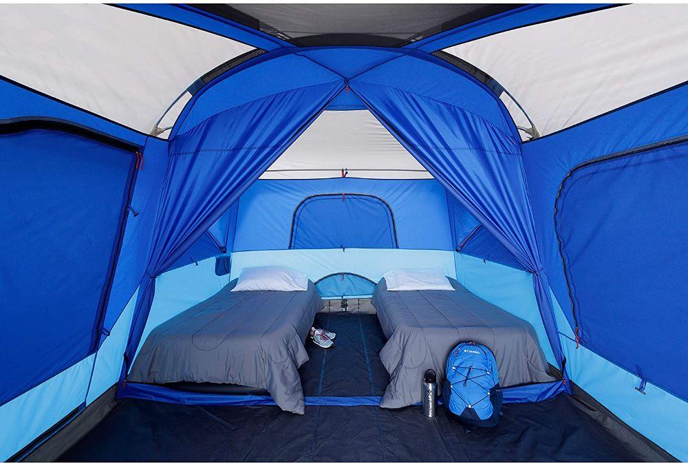 Columbia Mammoth Creek 10 Person Cabin Tent Interior