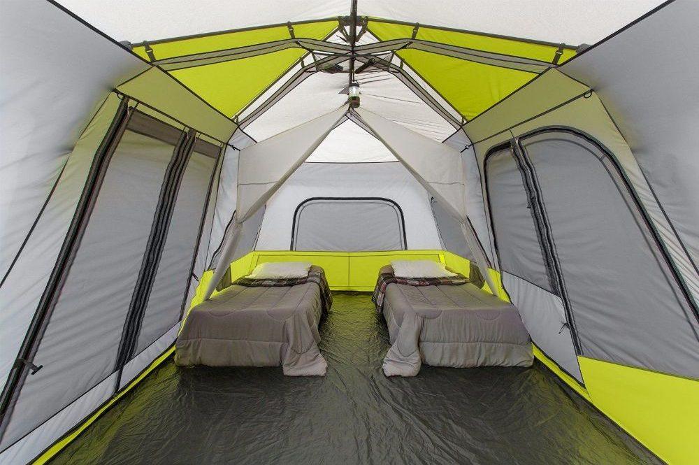 Core 10 Person Instant Cabin Tent Interior