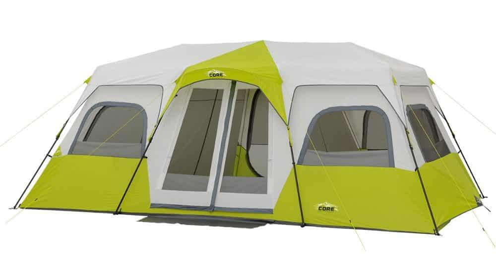 Core 10 Person Instant Cabin Tent with Screen Room