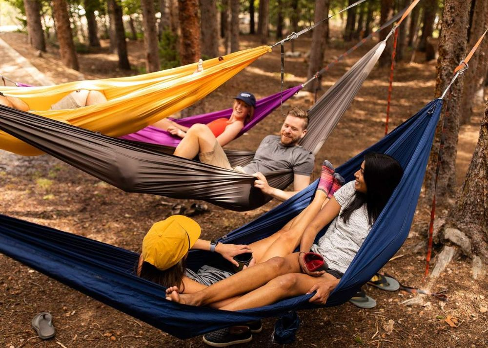 Kammok Roo Double Camping Hammock Group