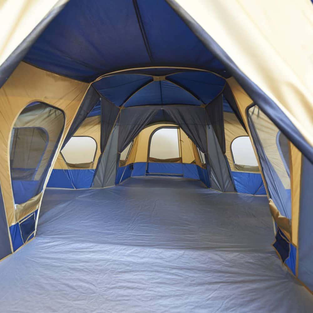 Ozark Trail Base Camp 14-Person Cabin Tent Interior