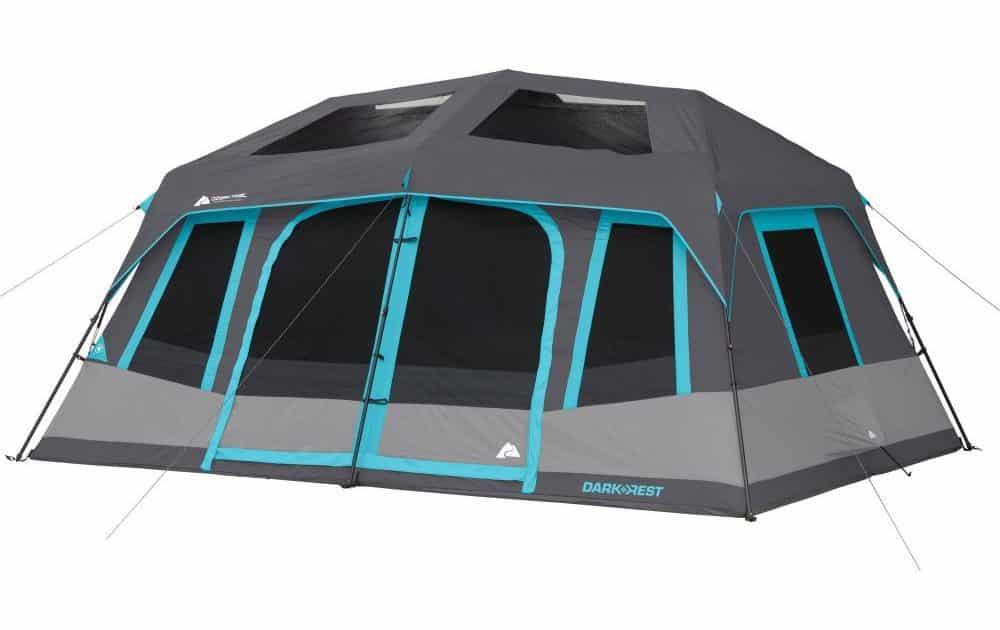 Ozark Trail's 10-Person Dark Rest Instant Cabin Tent