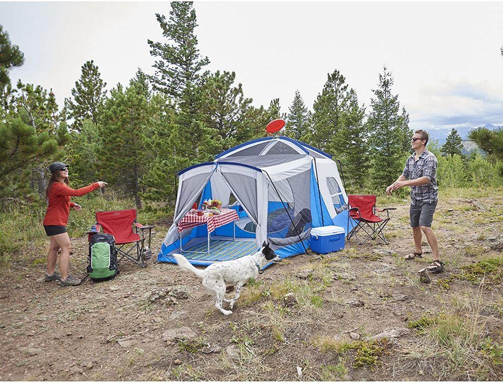 Wenzel 8 Person Klondike Tent Campsite