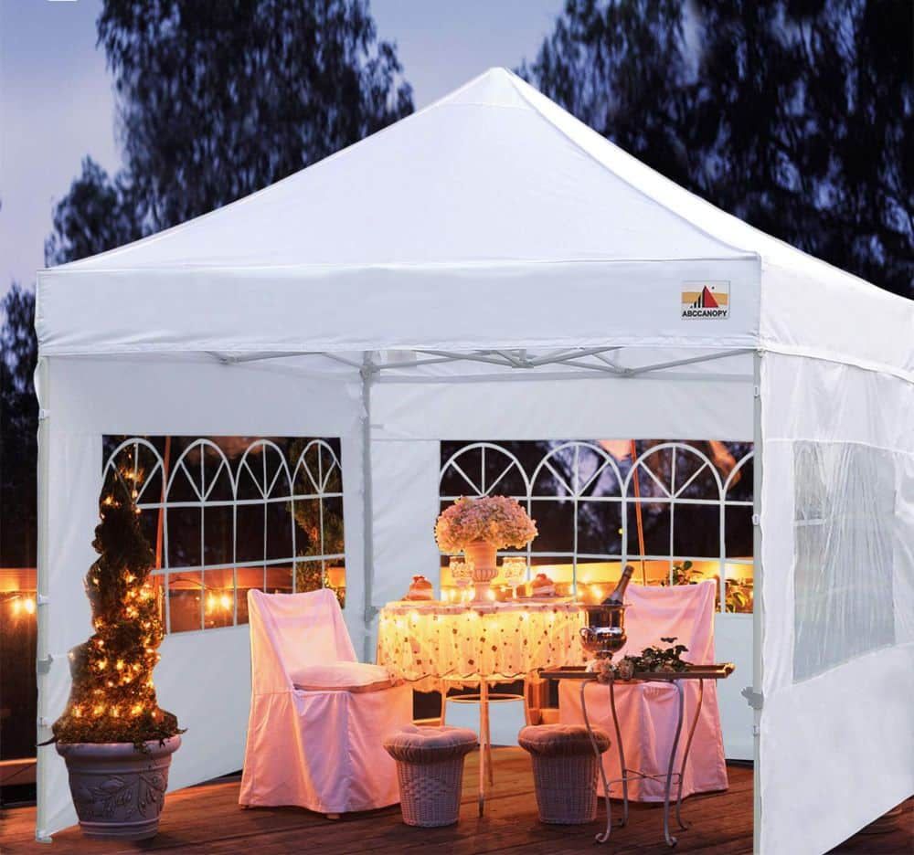 ABC Canopy Outdoor Winter Gazebo Romantic Dinner