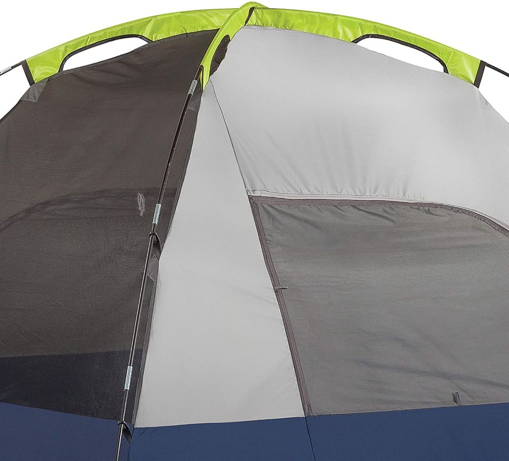 Coleman Sundome 4 Pole Sleeves and Clips