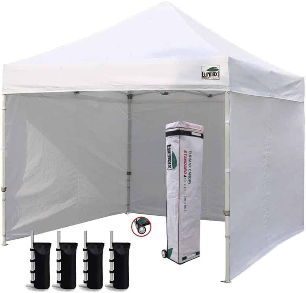 Eurmax 10'x10' Ez Pop-up Canopy Tent