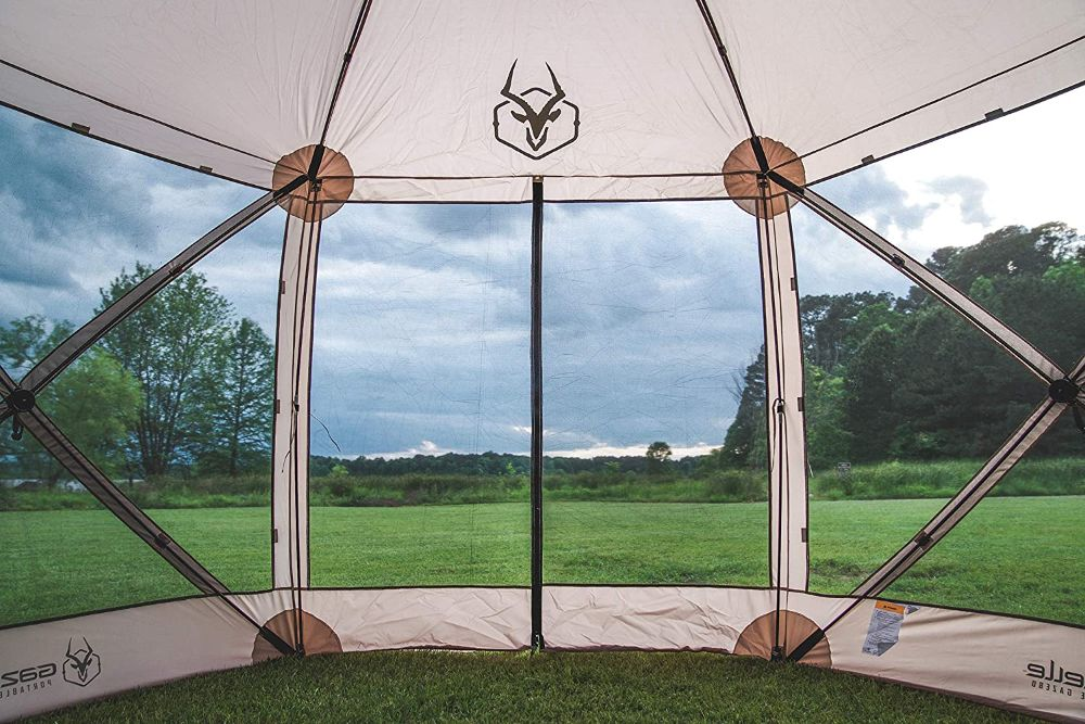 Gazelle 21500 G6 Pop Up Gazebo View from Inside