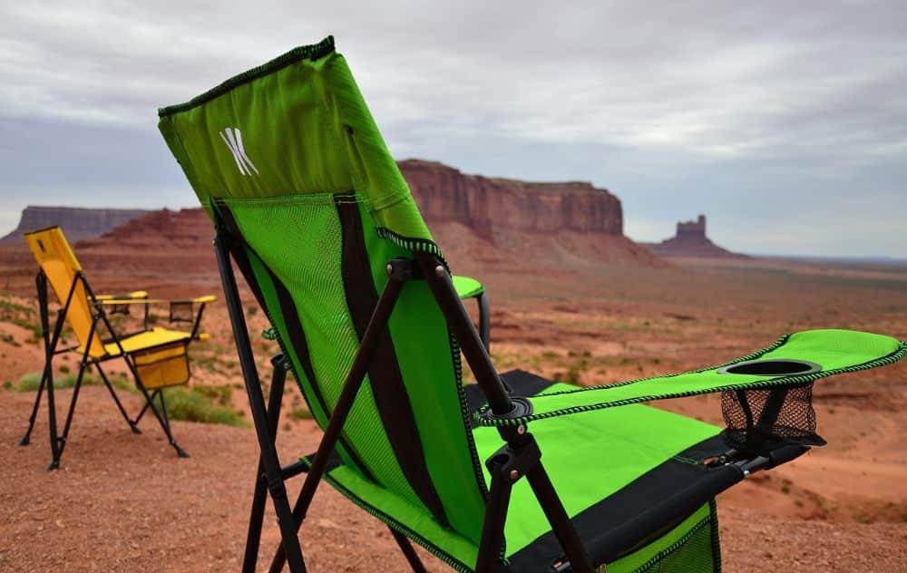 Kijaro Dual Lock XXL Portable Camping and Sports Chairs in Desert Mesa