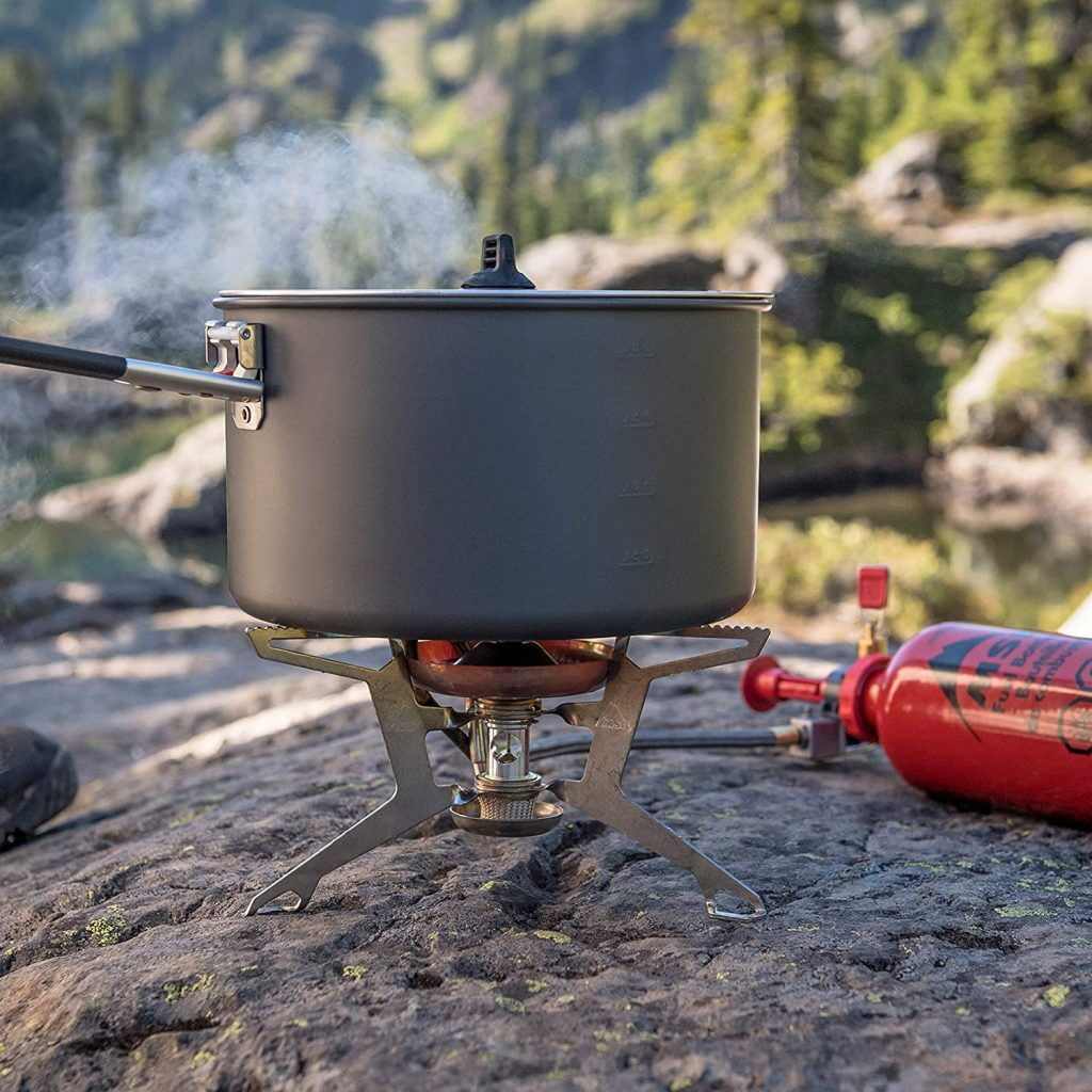 Cooking with the MSR WhisperLite International Multifuel Backpacking Stove