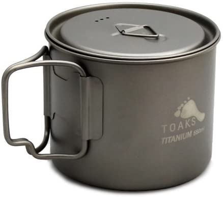 TOAKS Light Titanium 550ml Pot
