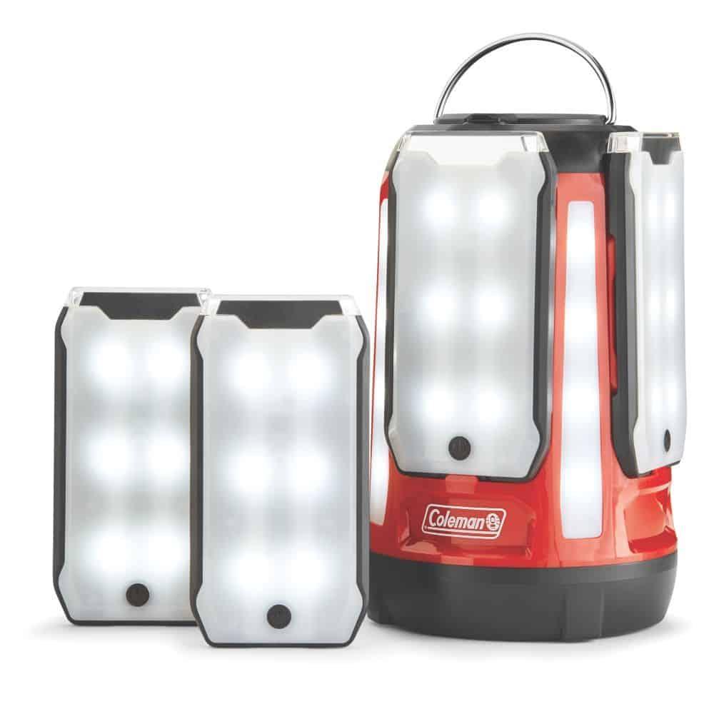 Coleman Quad Pro Multi-Panel LED Lantern