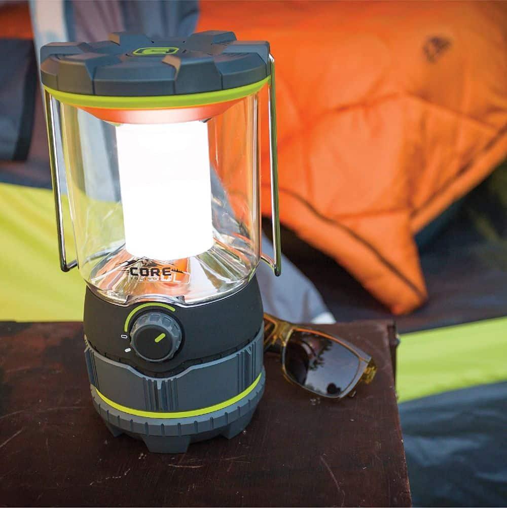 Core 750 Lumen Camping Lantern in Tent