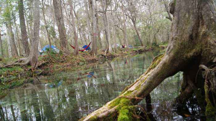 camping at ginnie springs